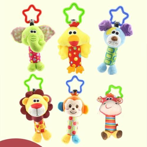newborn bed stroller rattle plush baby mobile