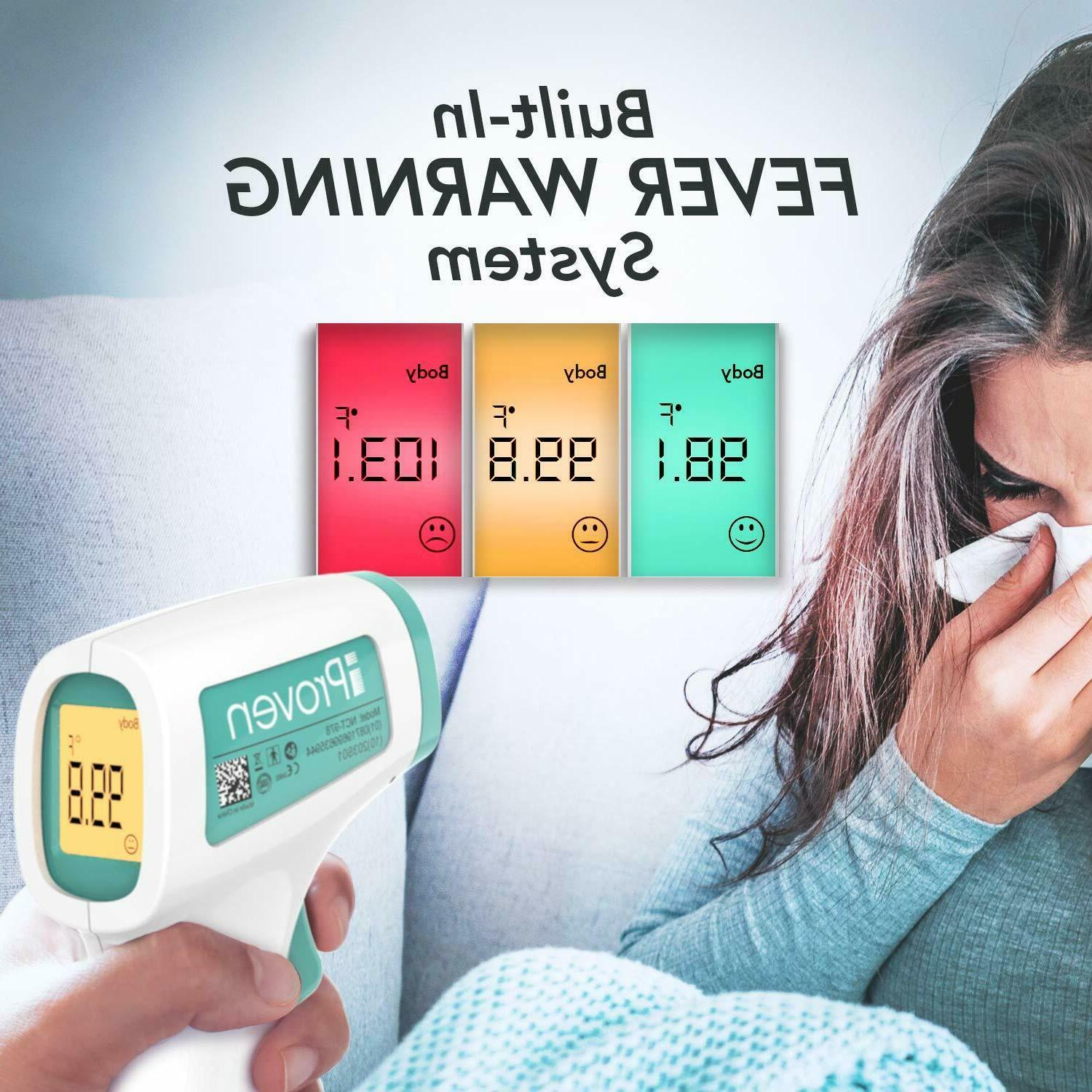 iProven Digital Thermometer for Kids &