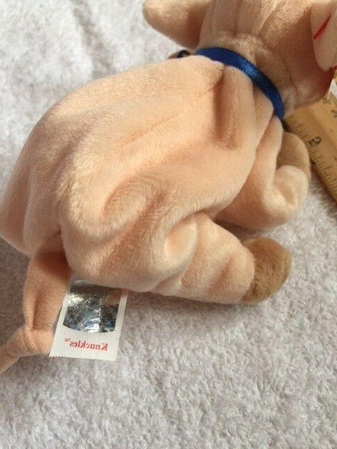 """Ty Beanie Baby """"Knuckles"""" ages 3+, NWT!"""