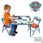 PAW Patrol Erasable Activity Table Set 3 Markers Padded Chai