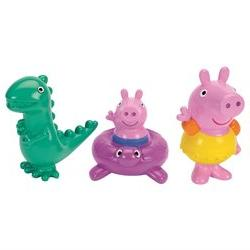 Peppa Pig Bath Squirters - Peppa, George and Dinosaur