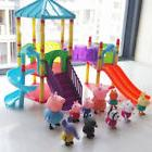 NEW Peppa Pig Sliding Amusement Park With Friends Figures To