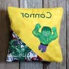 Boy's Personalized Embroidered Super Hero Green Hulk Design