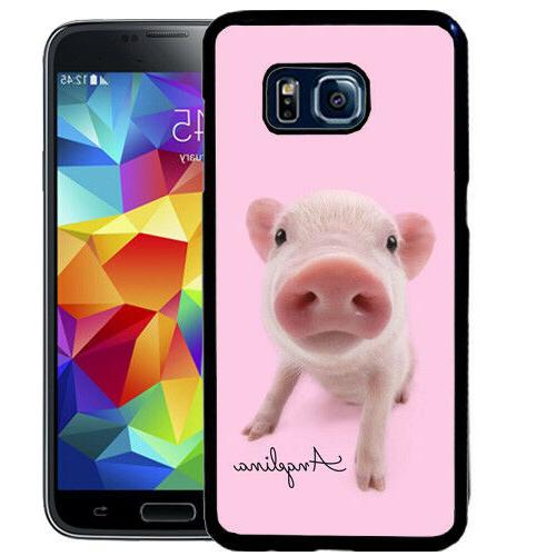 personalized rubber case for samsung s9 s8