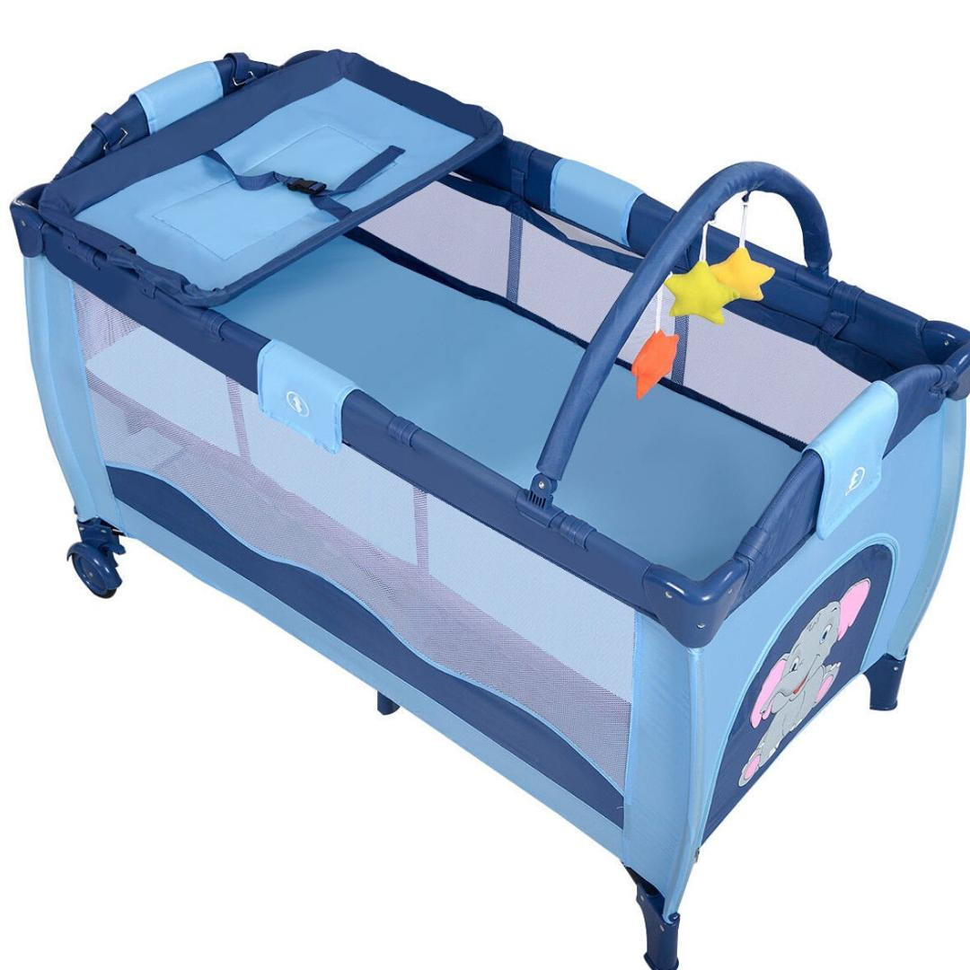 PLAY YARD CRIB BASSINET FOR AND TODDLERS