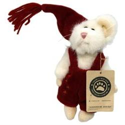 Boyds Bears Plush Squeek Mcsnoozle Christmas Mouse Archive,