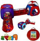 Play Tent Tunnel for Kids/Children, 2 Pop Up Crawl Tunnels T