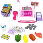Pretend Play Electronic Calculator Cash Register Realistic A