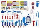 WolVol Set of 45 Pretend & Play Doctor Set for Kids with Ele