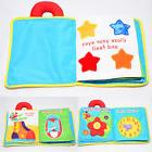 My Quiet Book Baby Soft Cloth Book Baby Early Learn Educatio