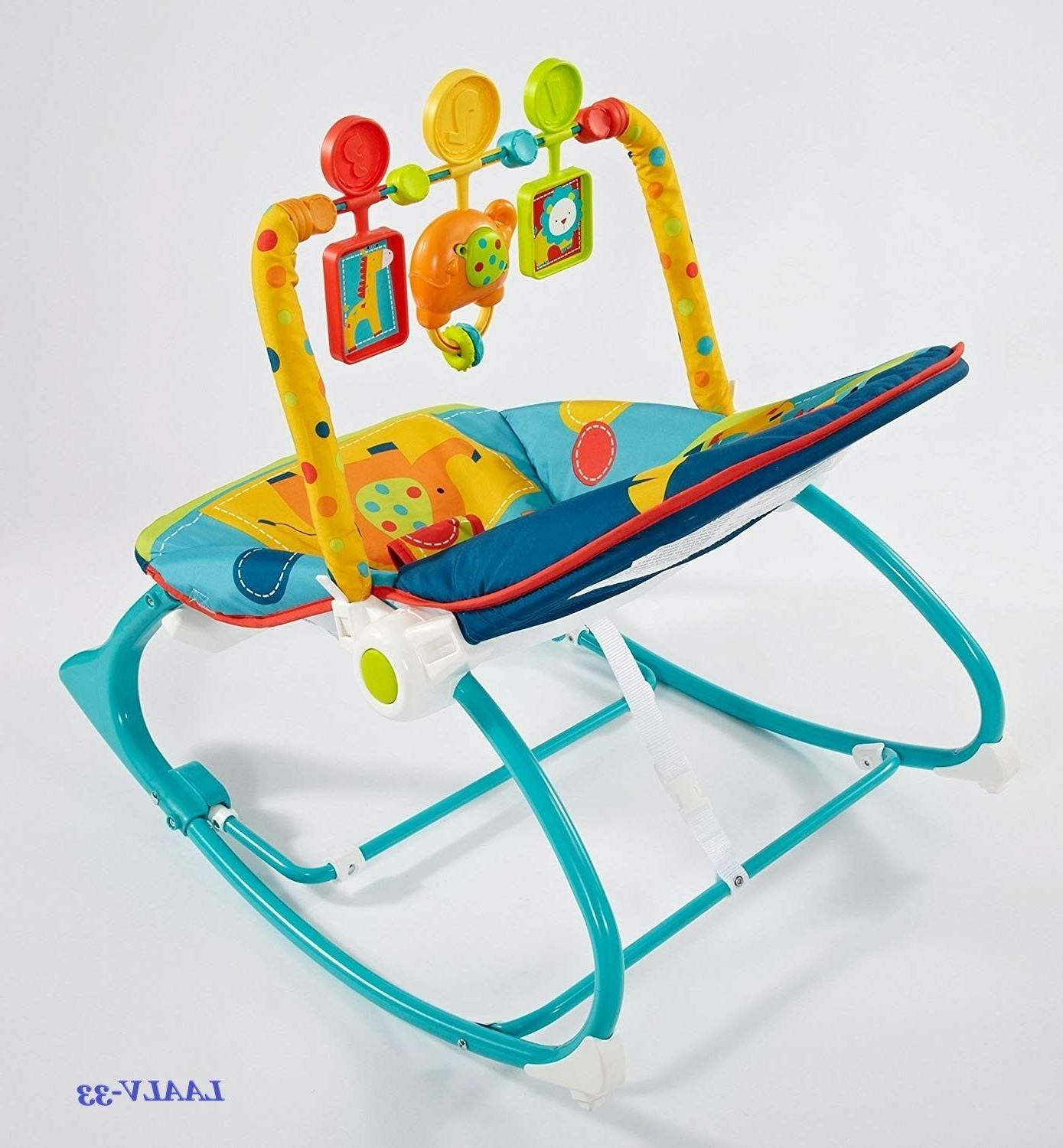 Reclining babies and by Fisher-Price, Dark Safari