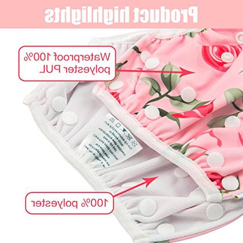 babygoal for One Size Underwear Fits 0-2 and Rose