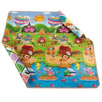 Reversible Play Giant Learning Playmat