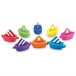 Learning Resources Smart Splash Sail Away Shapes - 16 Piece