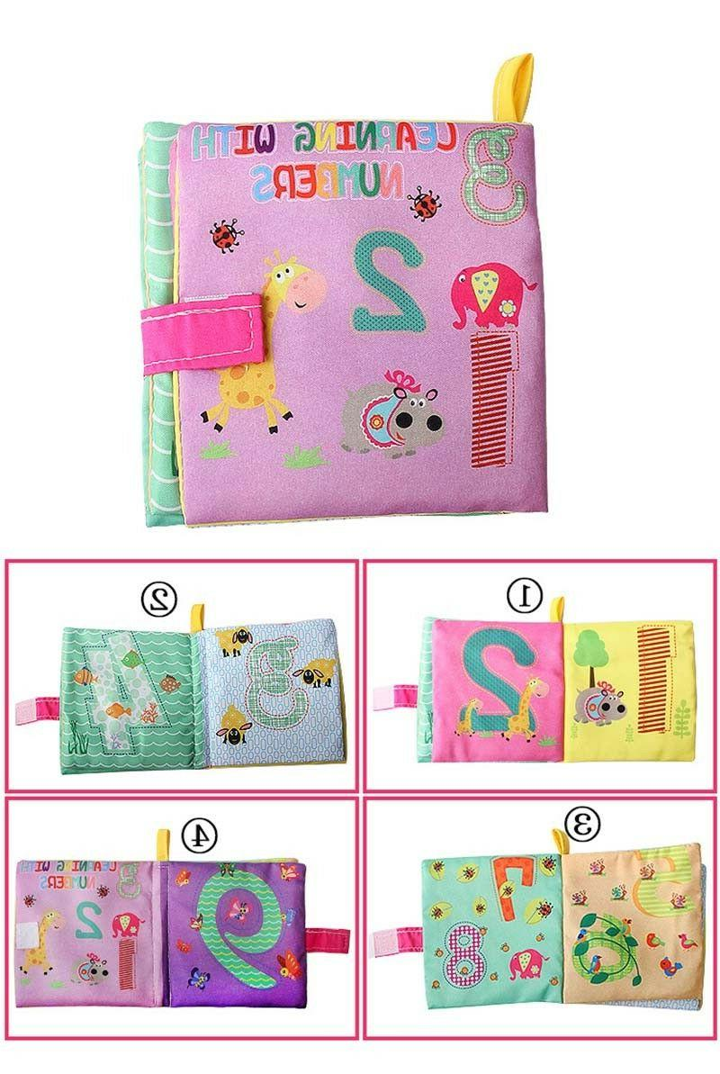 Intelligence development Cloth Cognize Book Educational Toy for New