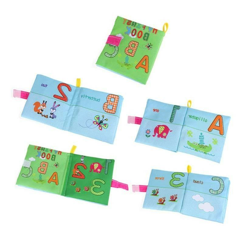 Intelligence Cloth Bed Cognize Book for Kid Baby New