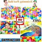 100pcs Kid Baby Soft Play Balls Toy for Ball Pit Swim Pit Ba