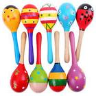 Hot! Baby Kids Sound Music Gift Toddler Rattle Musical Woode