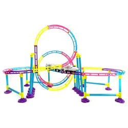 High Speed Roller Coaster Bullet Train Toy Building Set