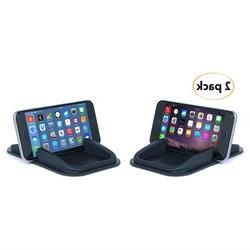 Sticky Pad Roadster Smartphone Dash Mount 2-Pack. No sticky