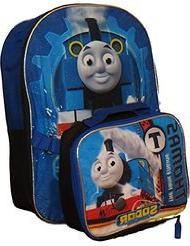 Thomas the Tank Engine Backpack with Detachable Insulated Lu