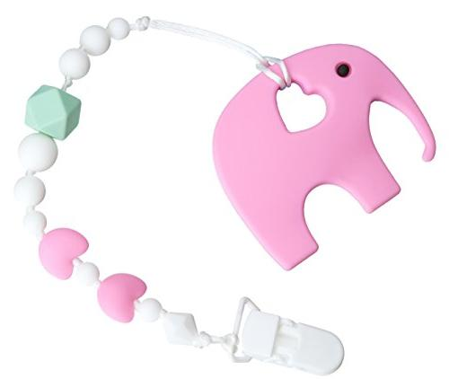 teething toy universal pacifier clip