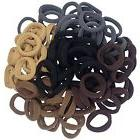 Thick Seamless Cotton Hair Bands, Simply Hair Ties Ponytail