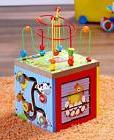 Toddler Baby Activity Cube Block w/ Baby Slide Game Bead Run