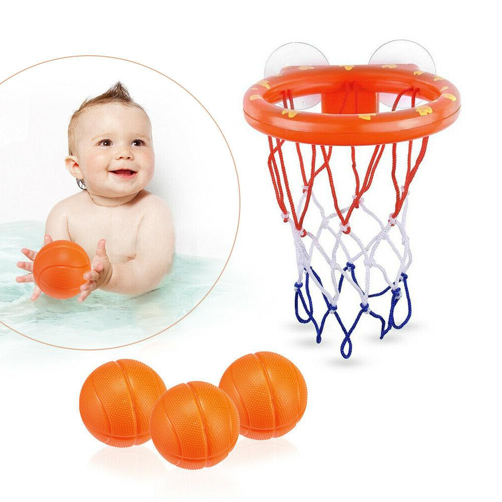 toddler bath toy basketball hoop suction cup