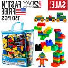 Toddler Toys Boys Baby Building Block Set 150 pc Toy for Kid