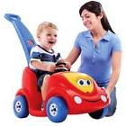 Toy Cars For Kids To Ride Push Girls Boys Riding Seat Baby T