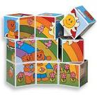 Megcos Toys 6 Pictures PUZZLE BLOCKS 9 pc ~NEW~