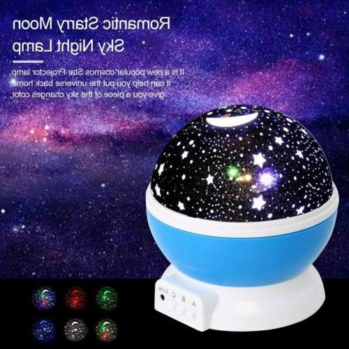 TOYS FOR Old LED Light Moon Constellation Xmas