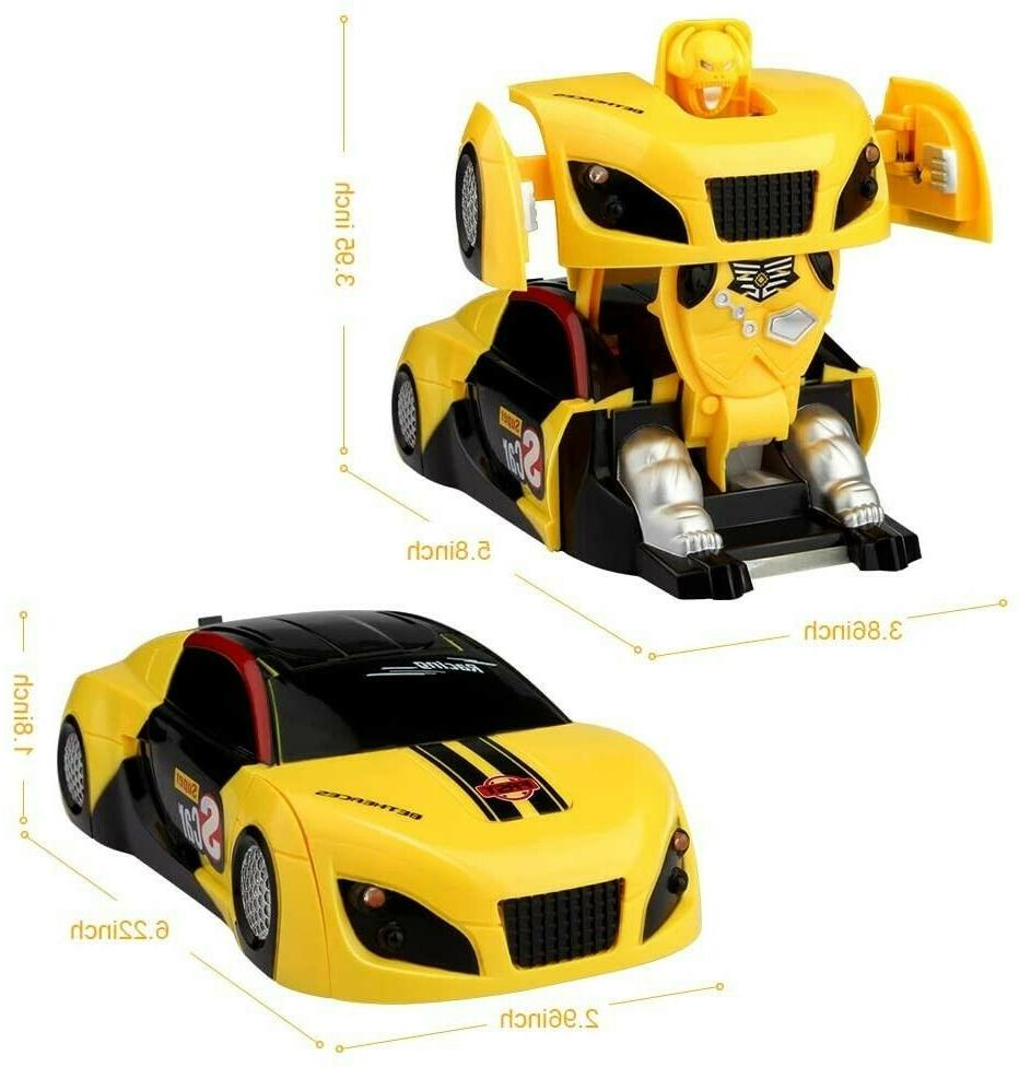 Toys 4 5 6 8 9 11 Year Old Kids RC Racing Robot Bday Gift