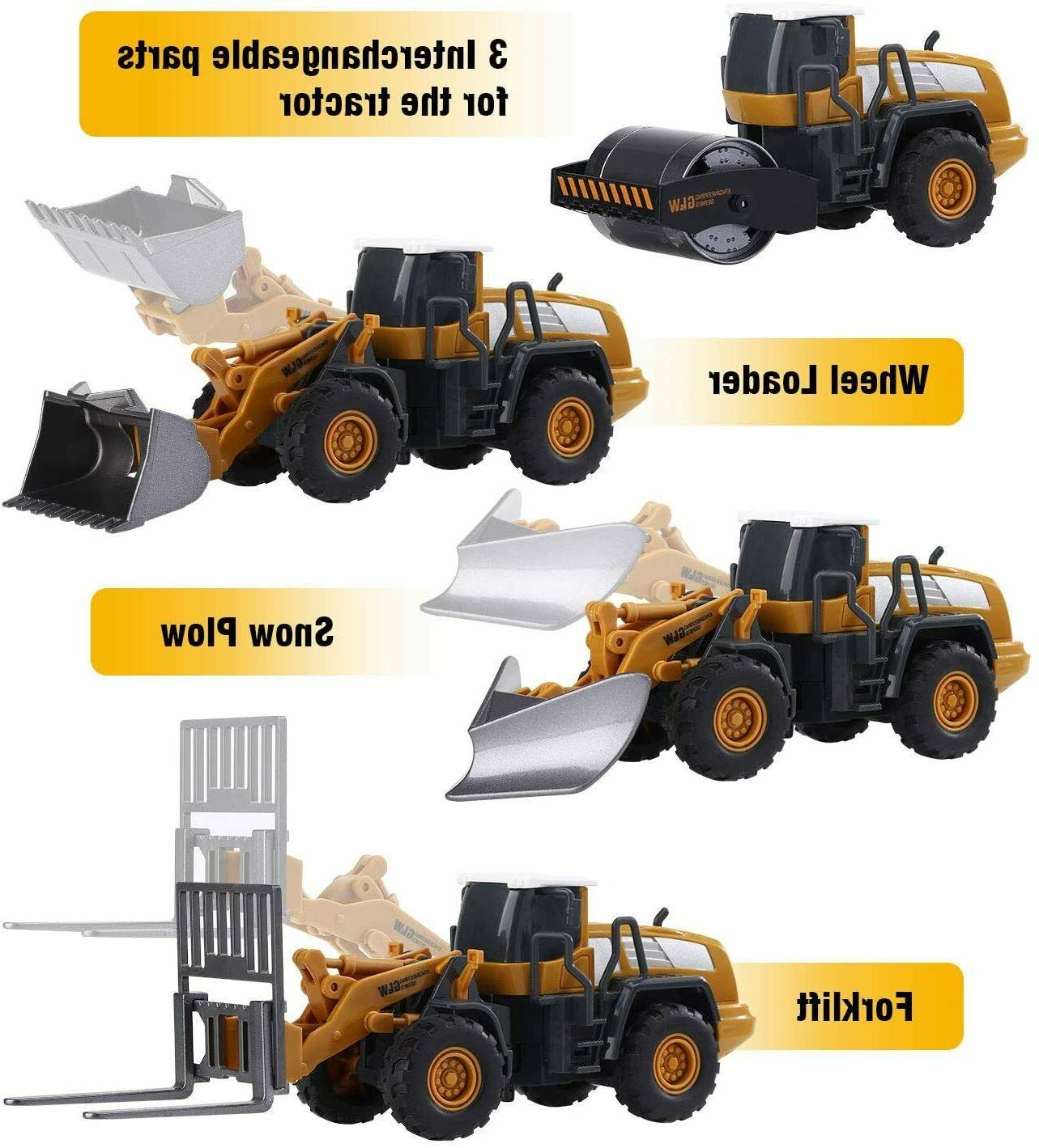 Toys Truck Toy Kids Alloy Construction Engineering Excavator Baby