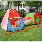 Triangle Tunnel 3-in-1 Playground Indoor Outdoor Ball Pit Pl