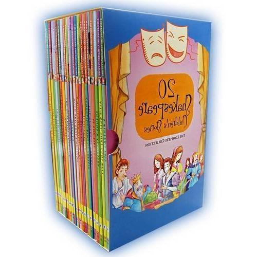 twenty shakespeare childrens stories complete books boxed co