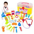 US Kids Baby Doctor Medical Play Carry Set Case Education Ro