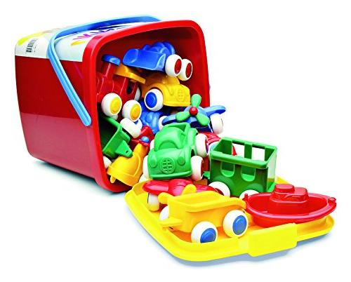 vehicles boats bucket set