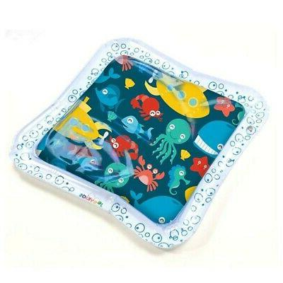 Water Play Mat Infants Inflatable Toddlers Tummy Time Mat