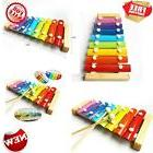 Wooden 8 Notes Xylophone, Children Musical Toy Instrument fo
