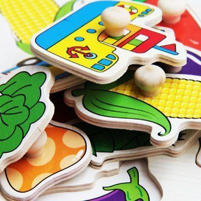 Wooden Animal Letter Puzzle Jigsaw Learning Educational Toys