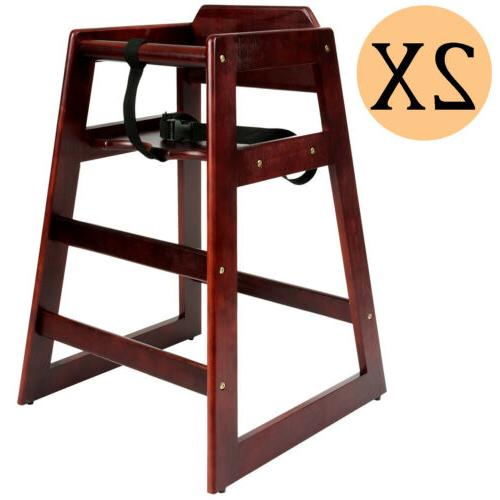 wooden high chair for babies infants