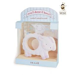 Bunnies By The Bay Lamb Natural Rubber Teether