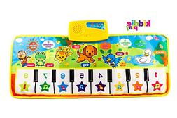 Kiddie Play Learning Musical Piano Mat with Songs and Animal