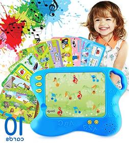 Learning Pad with 10 Educational Cards by Boxiki Kids | Kids