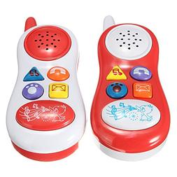 Baby Kids Learning Study Musical Sound Cell Phone Children E