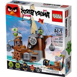 LEGO Angry Birds 75825 Piggy Pirate Ship, Includes 4 figures