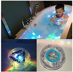 FASTWAYS LED Light Toys Waterproof Funny Bathroom Bathing Tu