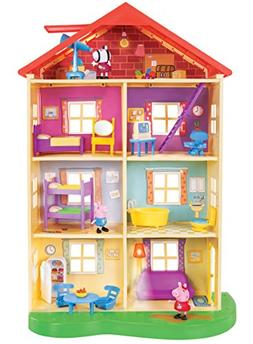 Peppa Pig Lights and Sounds Family Home Playset